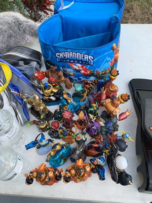 Sky landers all for 40 is around 40 of them for Sale in Haines City, FL