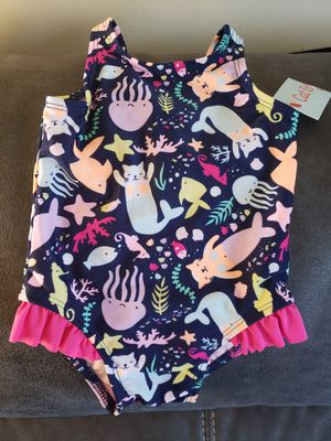 Baby girl swimsuit 9 months for Sale in La Habra, CA
