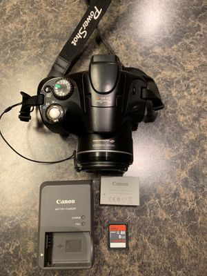 Canon Powershot SX30 IS digital camera for Sale in Anchorage, AK