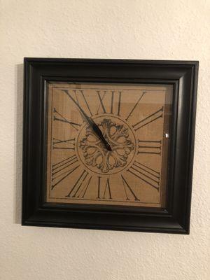 Nice squared clock for Sale in Tulsa, OK