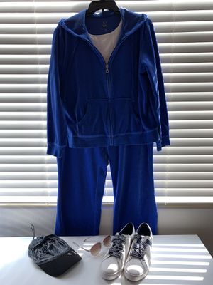 New York and company royal blue jogging suit size extra-large Michael Kors blouse comes free with purchase for Sale in Mesa, AZ