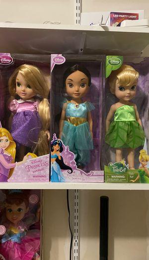 Disney princess dolls for Sale in Pflugerville, TX