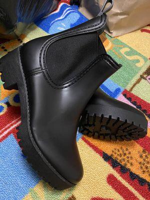 Catherine Malandrino Rain Boots Size 6 for Sale in HILLTOP MALL, CA