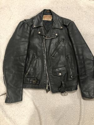 Vintage Leather Motorcycle Jacket for Sale in Arlington, TX