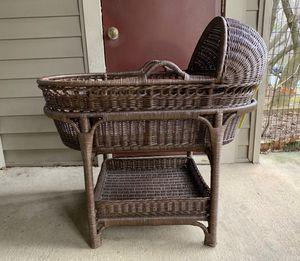 Pottery Barn Wicker Bassinet & Rocking Chair NEW for Sale in Herndon, VA