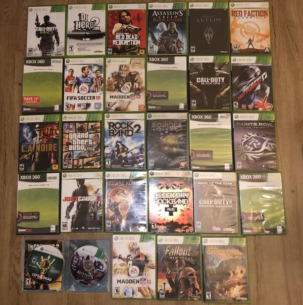 Xbox 360 Slim 250GB with 28 Games