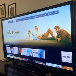 55 Inch Samsung 6 Series 1080 HD Smart TV Very Good Condition With The Box for Sale in Houston, TX