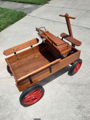 Gorgeous Handmade One of a Kind Excellent Condition Wooden Coach Wagon for Sale in Orlando, FL
