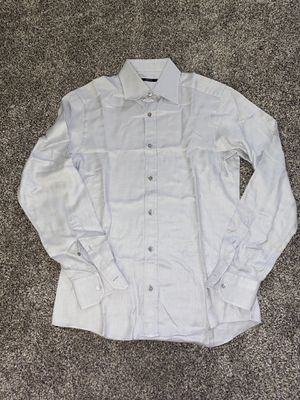 Gucci size L 16.5 men's grey button up shirt for Sale in Portland, OR