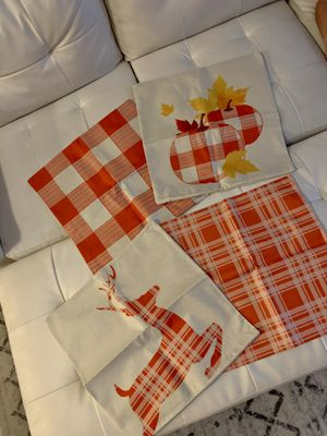 Fall throw pillow cases for Sale in Brandon, FL