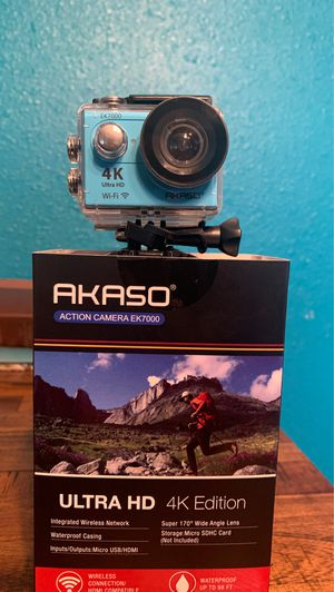 Action Camera 4K ultra HD( GoPro) for Sale in Poinciana, FL