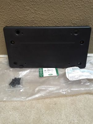 Land Rover - front license mounting plate for Sale in Seattle, WA