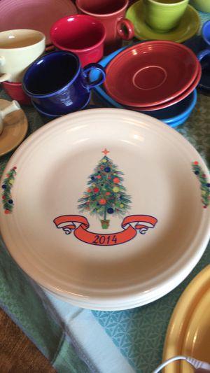 Fiestaware Dillards Christmas Tree Plate for Sale in Victoria, TX
