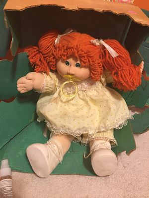 Vintage Cabbage 🥬 Patch Doll for Sale in Cleveland, OH
