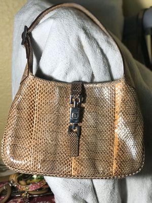 Authentic Gucci mini snakeskin Jackie bag for Sale in El Cerrito, CA