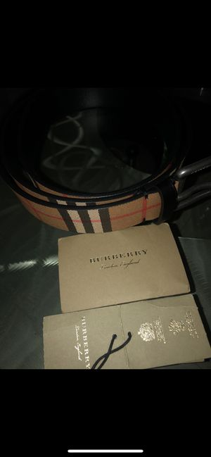 Burberry belt for sale for Sale in Baltimore, MD