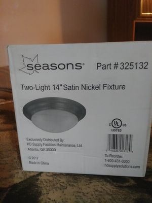 Light fixture (never opened) have 2 for Sale in Denver, CO