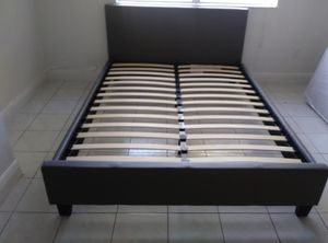 $199 Full bed frame brand new in box free delivery same day for Sale in Miramar, FL