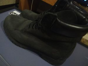 Black timberland work boots size 10.5 M for Sale in New Orleans, LA