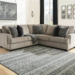 NEW L SHAPPED, LAF SOFA SECTIONAL WITH CORNER WEDGE for Sale in Santa Ana,  CA