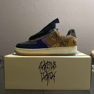 Nike Air Force 1 Low Travis Scott Cactus Jack Mens Size 11 for Sale in Gilbert, AZ