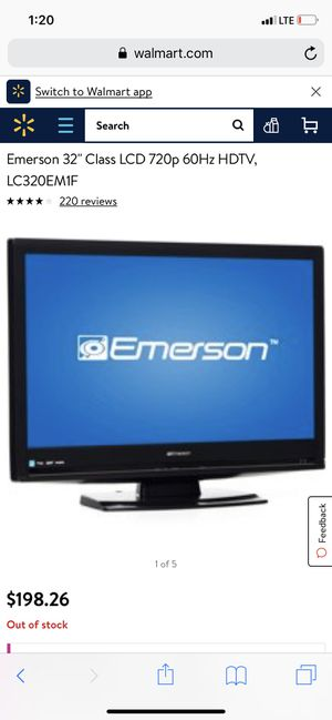 32'' inch Emerson flat screen tv for Sale in Saint Charles, MO