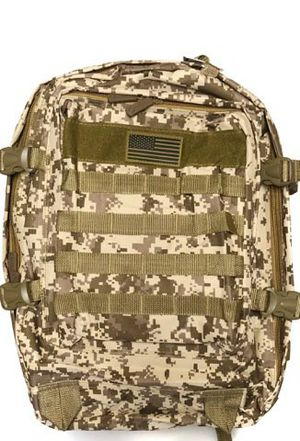 NEW! Large Digital Tan Molle Backpack For Traveling/Outdoors/Hiking/Biking/Fishing/Camping/Skateboarding/Summer/Sports/Gym/Gifts for Sale in Carson, CA
