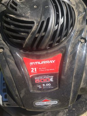 "Murray 21"" push lawn mower in good working conditions no bag 75.00 OBO for Sale in Denver, CO"