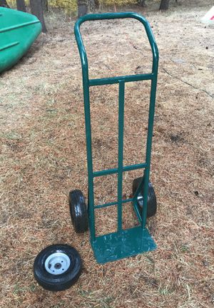 600 lb capacity steel hand truck with spare tire for Sale in Bend, OR