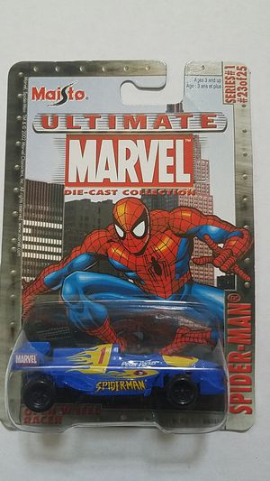 Maisto ULTIMATE MARVEL SPIDERMAN SERIES 1 # 23 OPEN WHEEL RACER HAVE MANY MORE for Sale in Kissimmee, FL