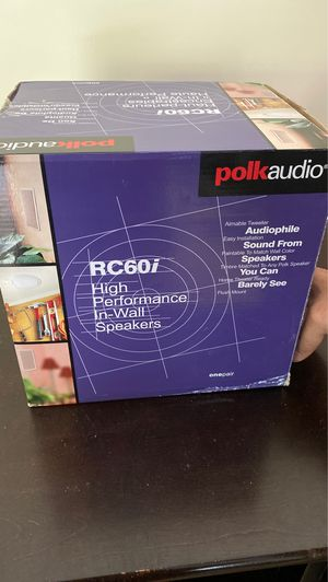 Polk Audio High Performance In-Wall Speakers for Sale in East Norwich, NY