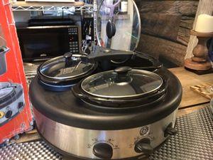 GE 3 pot crock pot/slow cooker for Sale in Orlando, FL