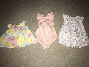 Cute newborn baby girl clothes! for Sale in Odessa, FL