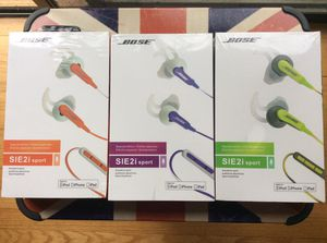 Bose SIE 2i sport headphones for Sale in Brentwood, MD