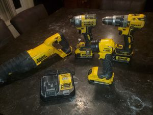 Dewalt combo set for Sale in Lynwood, CA