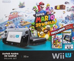 Nintendo Wii U Super Mario 3D World Deluxe Set for Sale in Linden, NJ