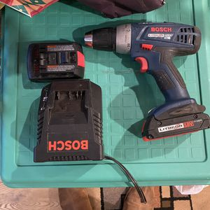 Bosch Drill Driver Kit for Sale in Island Lake, IL