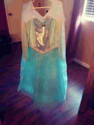 Elsa Disney store dress for Sale in Palm Springs, CA