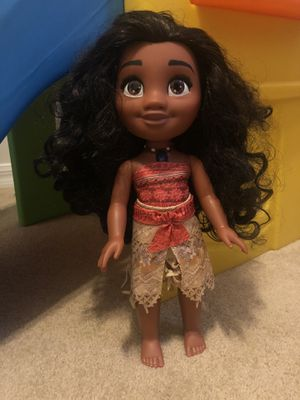 Moana singing doll for Sale in Fort Myers, FL