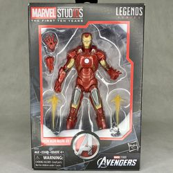 Marvel Legends Marvel Studios The First Ten Years Iron Man Mark VII - Collector Owned for Sale in Ridgefield,  WA