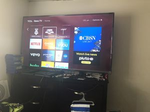 TCL 55inch Roku Tv for Sale in East Point, GA