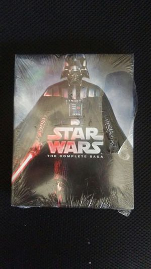 Star wars complete saga 1-6 blueray for Sale in Los Angeles, CA