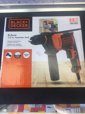 Black+Decker 6.5 AMP 1/2 in. Hammer Drill for Sale in Washington, DC