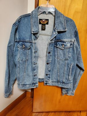 Men's Harley Davidson Jean Jacket for Sale in Beaver Falls, PA