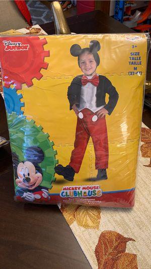Mickey Mouse 3T -4T costume for Sale in Longmeadow, MA