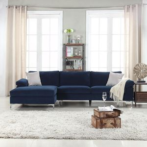Brand New Modern Blue Sectional Sofa Couch for Sale in Auburndale, FL