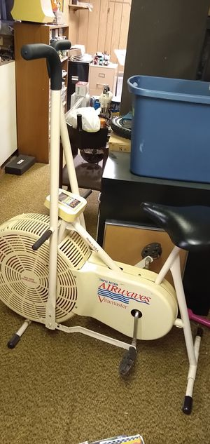 Triple Action Airwaves Vitamaster Stationary Exercise Bike for Sale in Woodhaven, MI