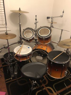 Tama SuperStar, 6 Piece Drum Set. With Cymbals, Hardware and Rack. All included!!! for Sale in Fort Lauderdale, FL
