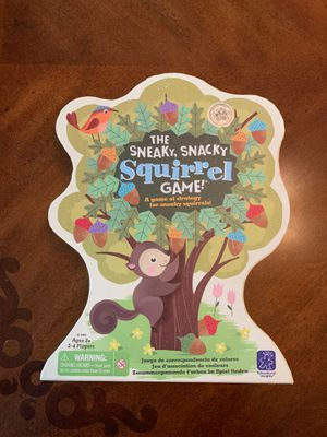 The Sneaky, Snacky Squirrel Family Friendly Game for Sale in Surprise, AZ