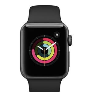 New**Apple Watch Series 3 38mm Black Sports Band** for Sale in New Haven, CT